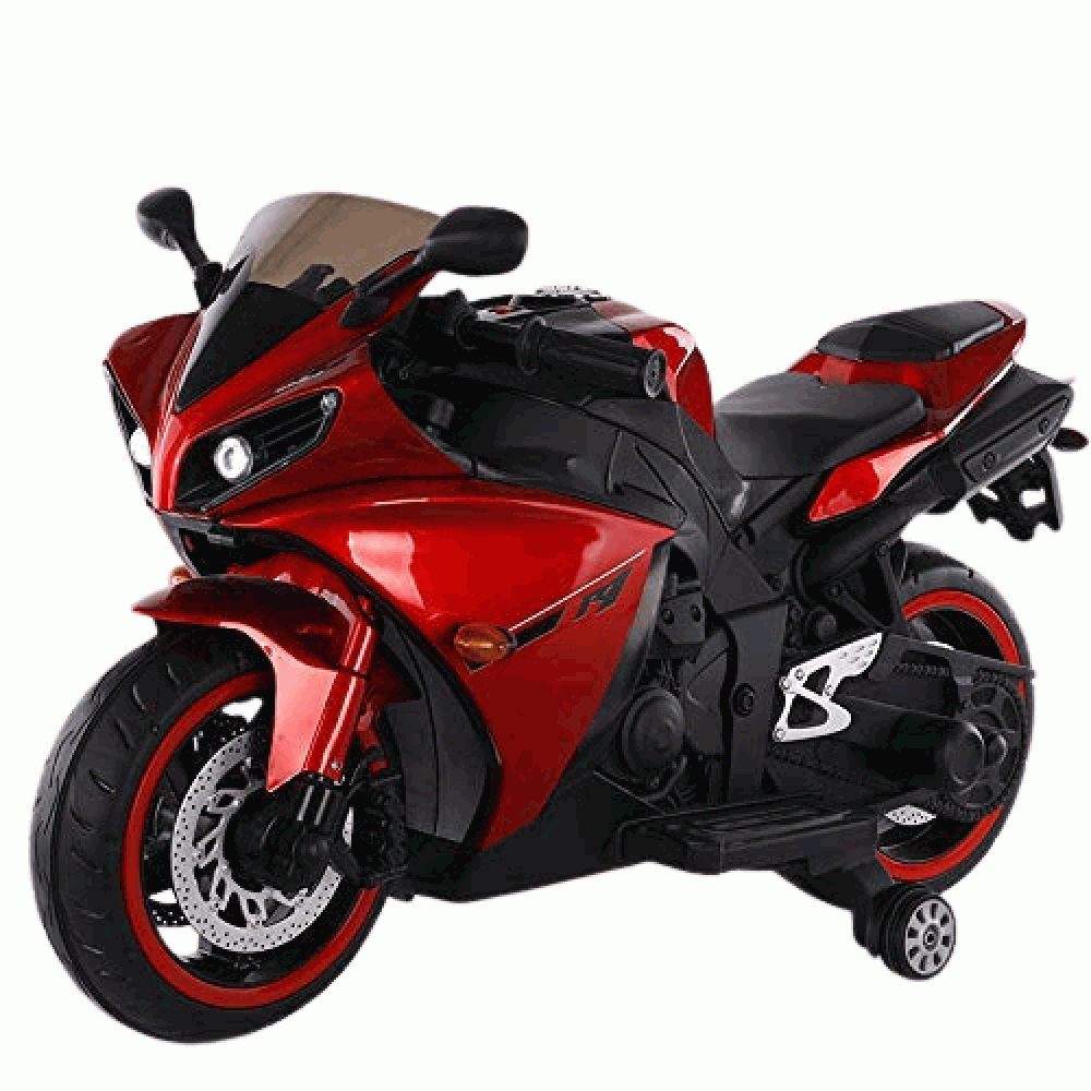 PATOYS R1 Painted Sports Ride on Bike for Kids with 12V Battery Operated Motorcycle upto 7 years kids