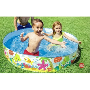 Kid2Kid 5 Feet Big Size Without Air Water Pool Snapset 56451 Pool