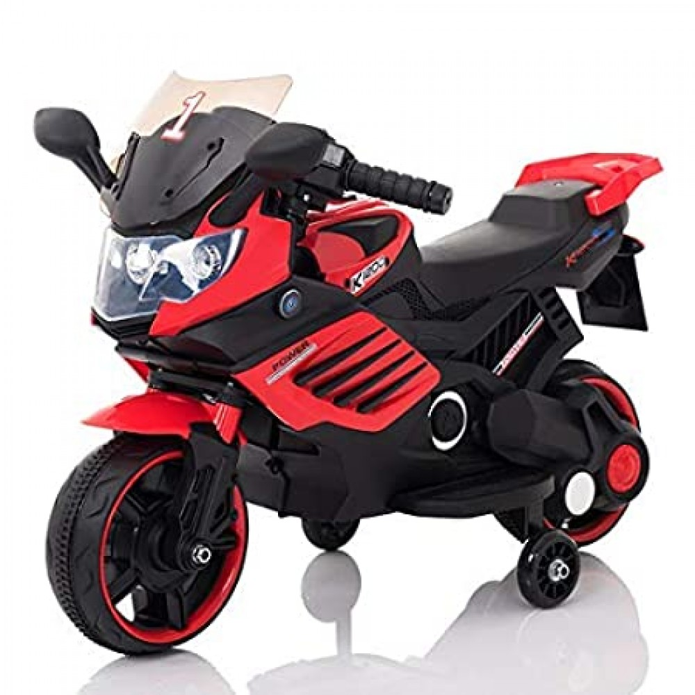 PATOYS Super Sport Rechargeable 6V Battery Operated Ride-on Bike for kids upto 3 years