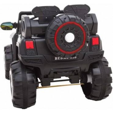 PATOYS Battery Operated 4x4 Jeep 2188 3 speed 4 motors 4 wheel shock absorbers ride on jeep for 8 years kids