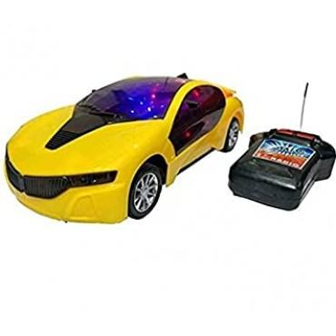 PATOYS 3D LED Light Fast Modern Car with Remote Control