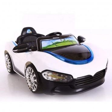 PATOYS PH 518 12V Battery Operated Ride on Car for Kids with Music, Lights and Remote Control