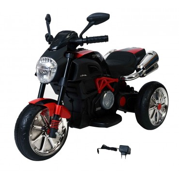 PATOYS Make in India Speed ducati diavel style ride on 6v Battery Operated Sports Bike - 6688