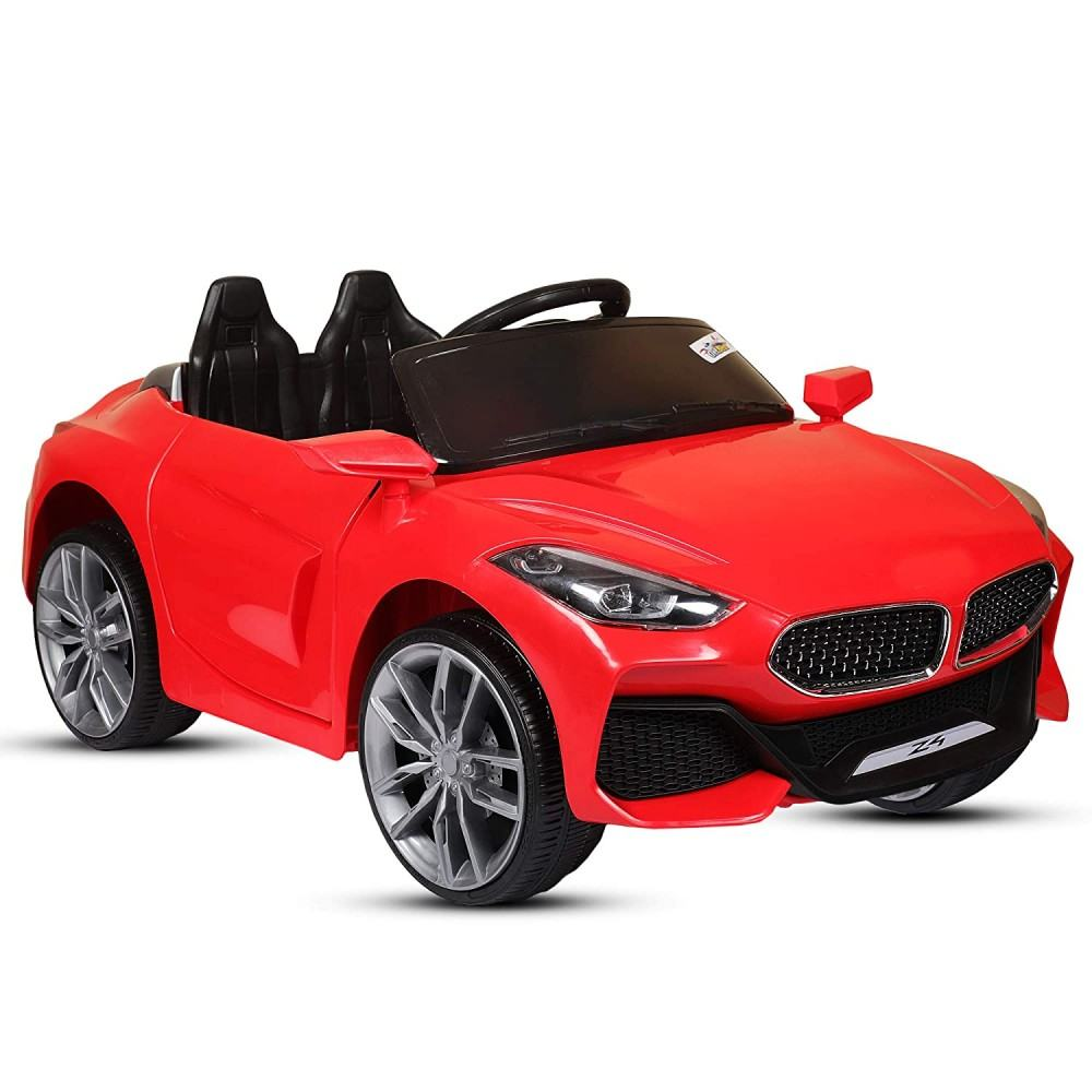 PATOYS Z4 Battery Operated Ride on Car for Kids with Swing