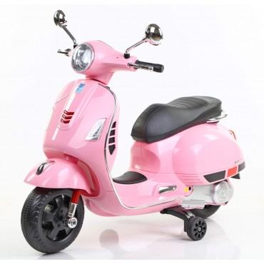 PATOYS  Vespa Rechargeable Battery Operated Ride-on Scooter for Kids (3 to 7 Years)