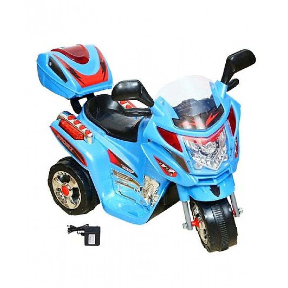 PATOTS 8309 Battery Operated Ride on Scooter for Kids with Music and Lights