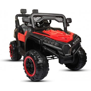 PATOYS 909 Electric Ride on Jeep for Kids with 12V Battery, Remote Control and Suitable for Kids of Age 2 to 6 Years