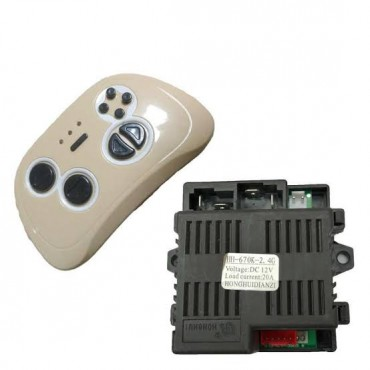 PATOYS HH-670K-2.4G 12V Receiver Remote Control and Transmitter for Baby Electric car