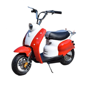 PATOYS - 24v 300w mini electric scooter vespa style for upto 15 years kids Moped /Pocket Mod Scooter