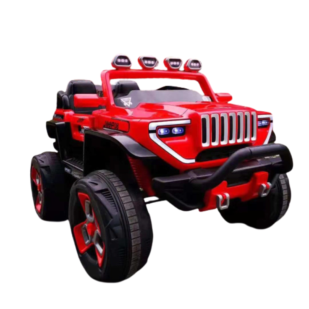 PATOYS - BDQ 1200 Big Size 2 Seater Battery Operated 4x4 Ride on Jeep with Spring Suspension and Bluetooth