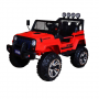 PATOYS 12V Electric Ride On Jeep S2388 Truck with Big Wheels 4x4, Remote Control, Additional Upper Bar Headlight