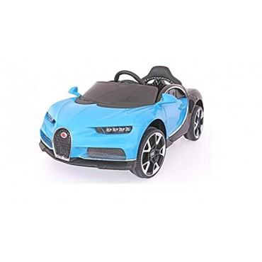 PATOYS Bugatti BDQ118812V Battery Operated Ride on Car with Remote for Kids None Painted