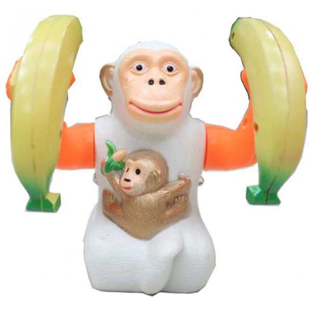 PATOYS Musical Banana Monkey  (Multicolor)