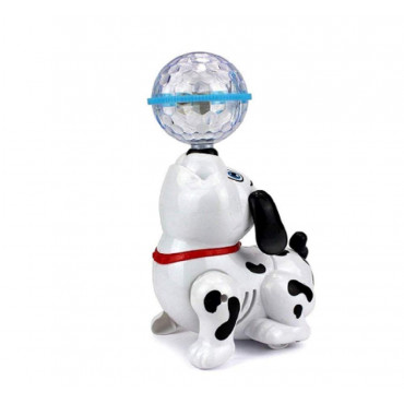 PATOYS Dancing Dog with Music Flashing Lights for Kids