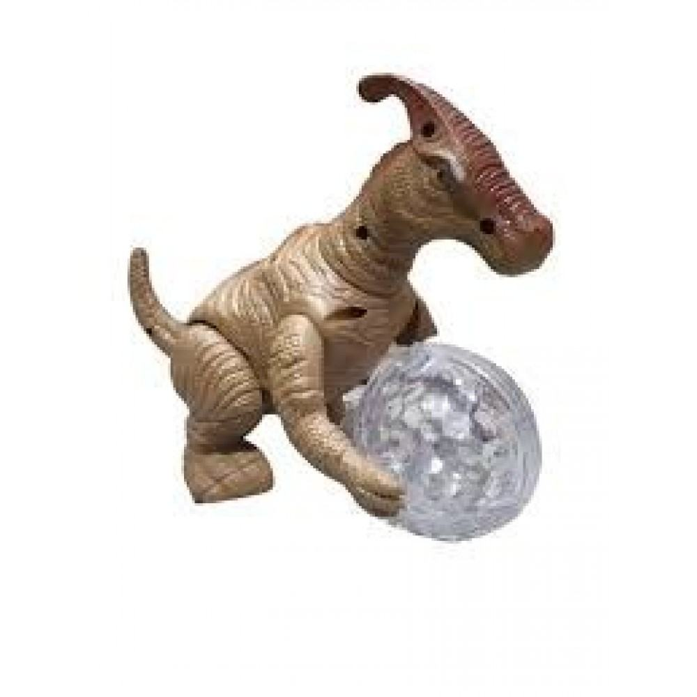 PATOYS Dinosaur Century 360 rotate 3D lights toy 328-4 for kids