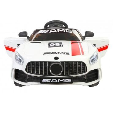 PATOYS Futuristic Benzy Plastic AMG Rechargeable Battery Operated Ride-on Car for Kids (2-5 Years)
