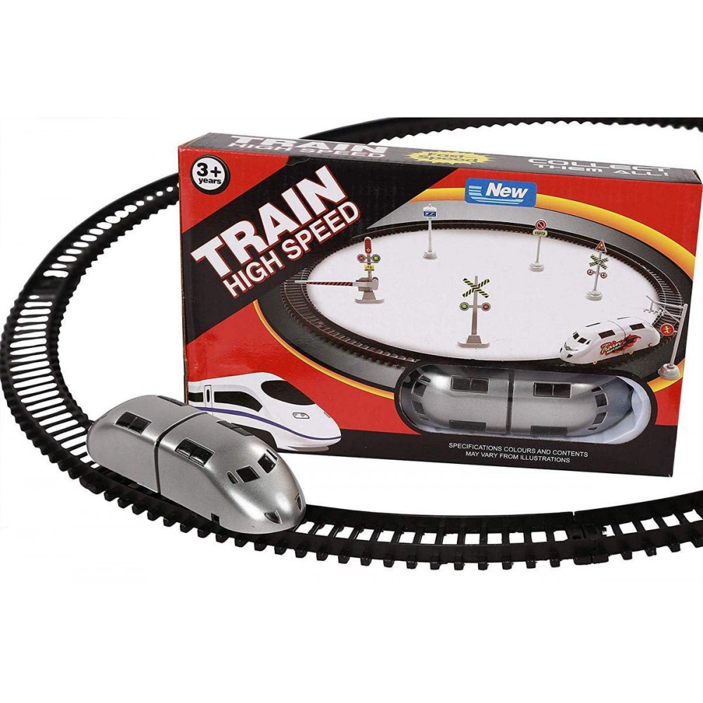 PATOYS high speed battery operated metro train set for kids small metro 1031-1