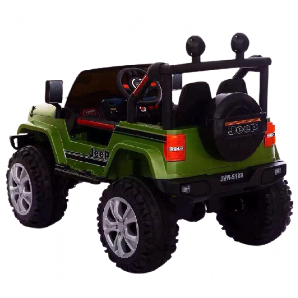 PATOYS - Offroader Kids JHW 5188 Jeep Car Baby Toy Car 12V Rechargeable Battery Operated Ride on car