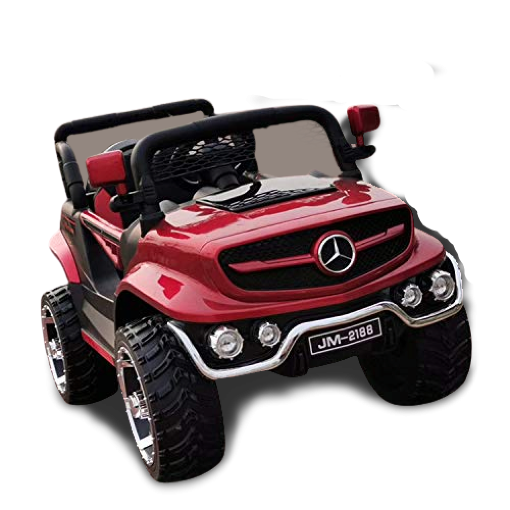 PATOYS V8 Biturbo Battery Car Jeep for Kids 1 to 7 Years with Mobile Application Control 12V Rechargeable Battery