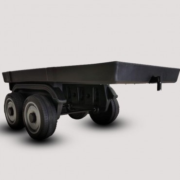 PATOYS Kids ride on trucks battery operated powered wheel Lorry with Trailer toy car