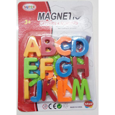 PATOYS magnetic alphabets letters for kids (big alphabets)- Multi color