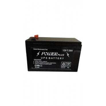 12V 7.5AH long life storage lead acid rechargeable battery for ride on toys, bike, jeep and cars