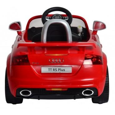 PATOYS Licensed Version Audi TT Rs Plus 12v Ride On Kids Car 676R (Red)