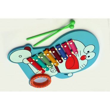 PATOYS 8 Note daemon Wooden Xylophone for Kids Toddlers Children Best Musical Toy for Nursery Kids