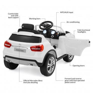 Yashav Licensed Mercedes Benz GLA Class 12V Battery Operated Car