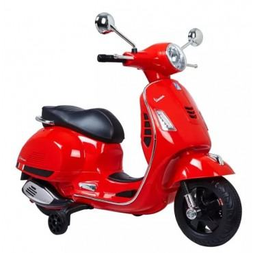 Heart to Heart Painted Rechargeable Battery Operated Ride-on Scooter for Kids (3 to 7 Years)