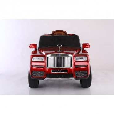 Rolles Royal R8 Toy Car Rechargeable Battery Operated Ride on car for Kids with Lather Seat