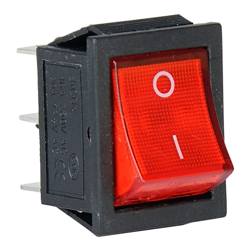 Red Forward Reverse Switch for Kids Bike and Car