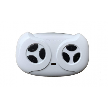 White 2.4G Bluetooth Remote Controller For Kids Ride Ons Toys
