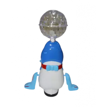 PATOYS Sea Lions Dancing Toy with Reflected 3D Lights & Wonderful Music for Kids, Battery operated, Multi Color