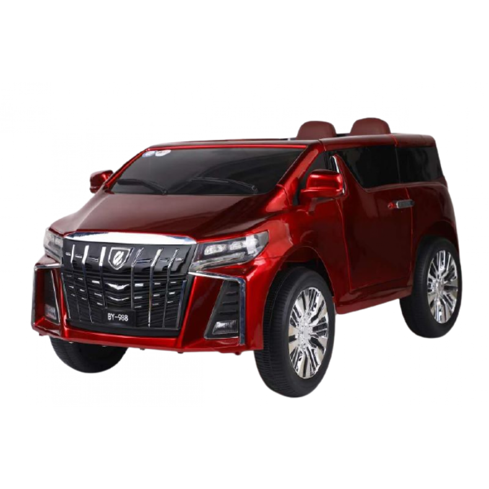 PATOYS Toyota Alphard 12v Two Seater big size Ride On Child Car With leather seat & sliding door