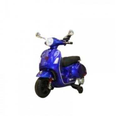PATOYS  Vespa Painted Rechargeable Battery Operated Ride-on Scooter for Kids (3 to 7 Years)