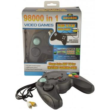 98000 in 1 Built-in Video Game Portable 8 Bit TV Console for Kids