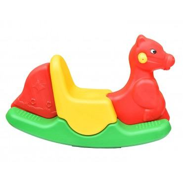 Playgro Rocker for Kids - Multi-Color Plastic Horse Ride-on Toy